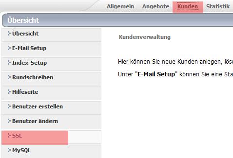 SSL Zertifikat installieren unter Confixx 2.0 • SSL-Trust