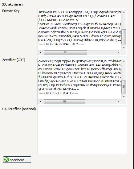 SSL Zertifikat installieren unter Confixx 3.0 • SSL-Trust